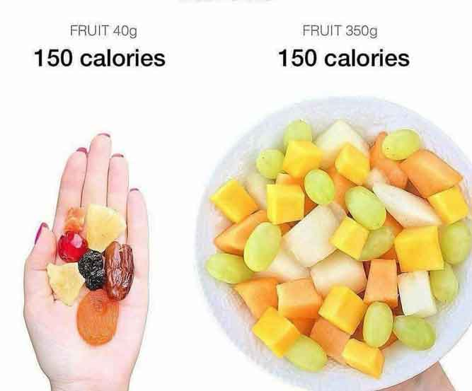 fruit salad calories