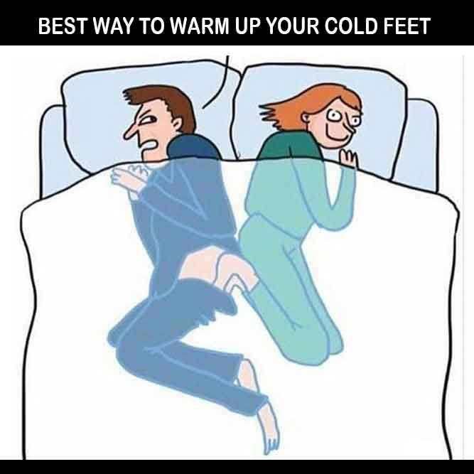 Best Way to Warm Up Your Cold Feet