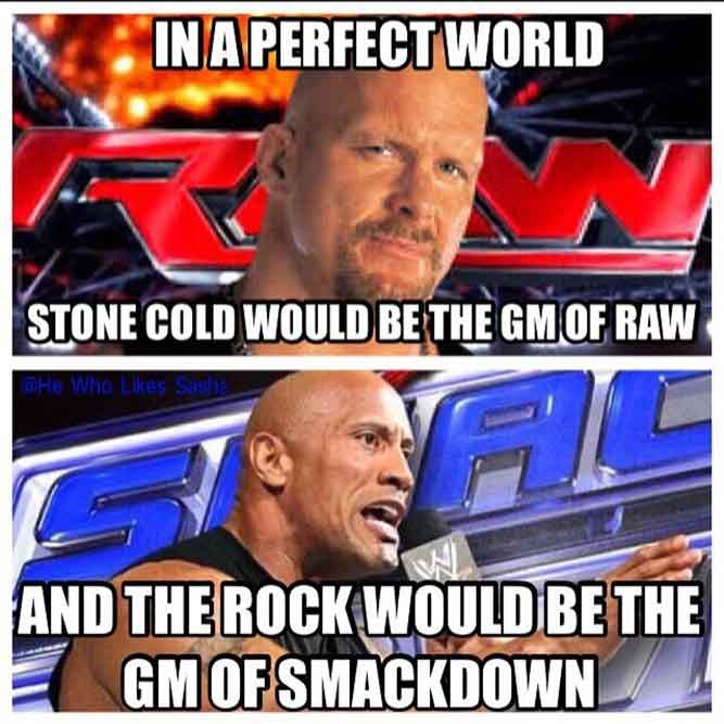 Eric Bischoff vs Stone Cold would be cool too