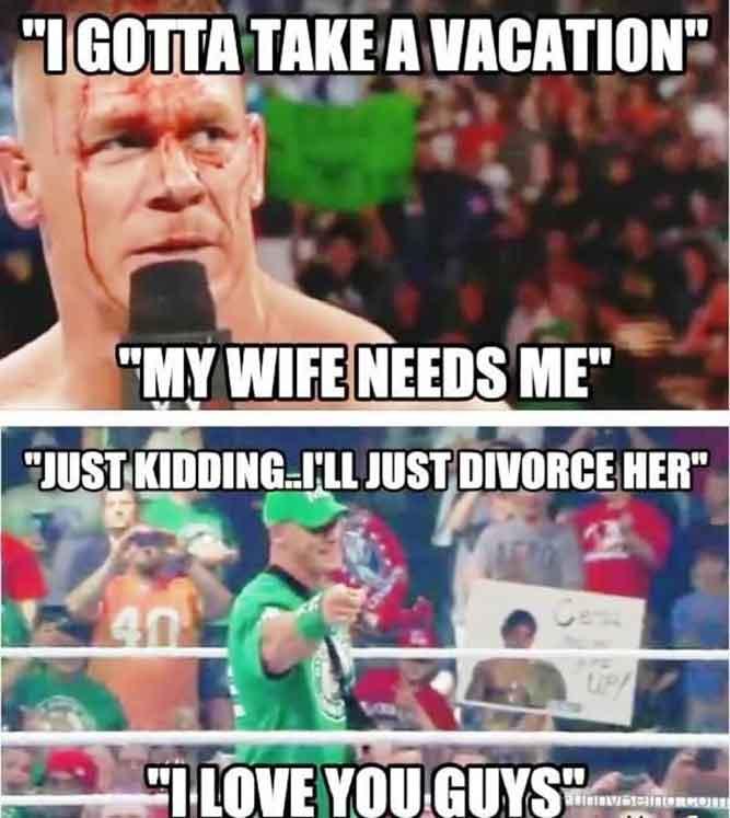 I Gotta Take A Vacation - My Wife Needs Me