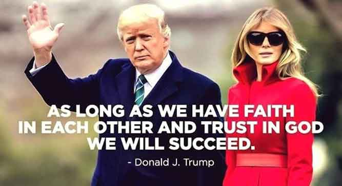 May God always guide and protect our president and our First Lady.
