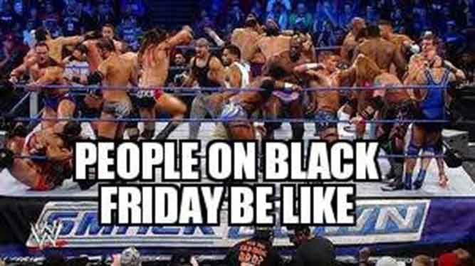 People on Black Friday Be Like