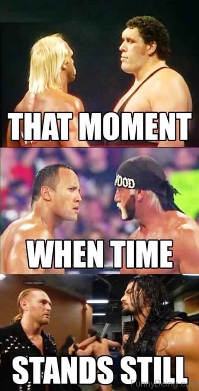 That Moment When Time Stands Still