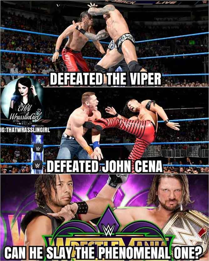 The Prince Of Phenomenal , AJ Styles.