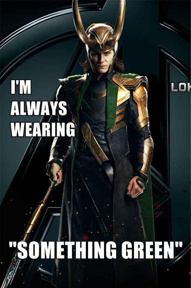 Happy St. Patrick's Day from Loki!