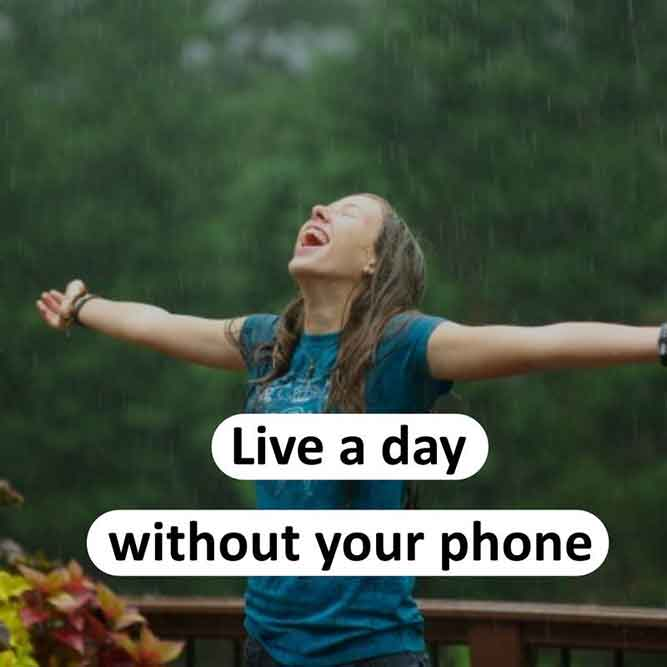 Live a Day Without Your Phone