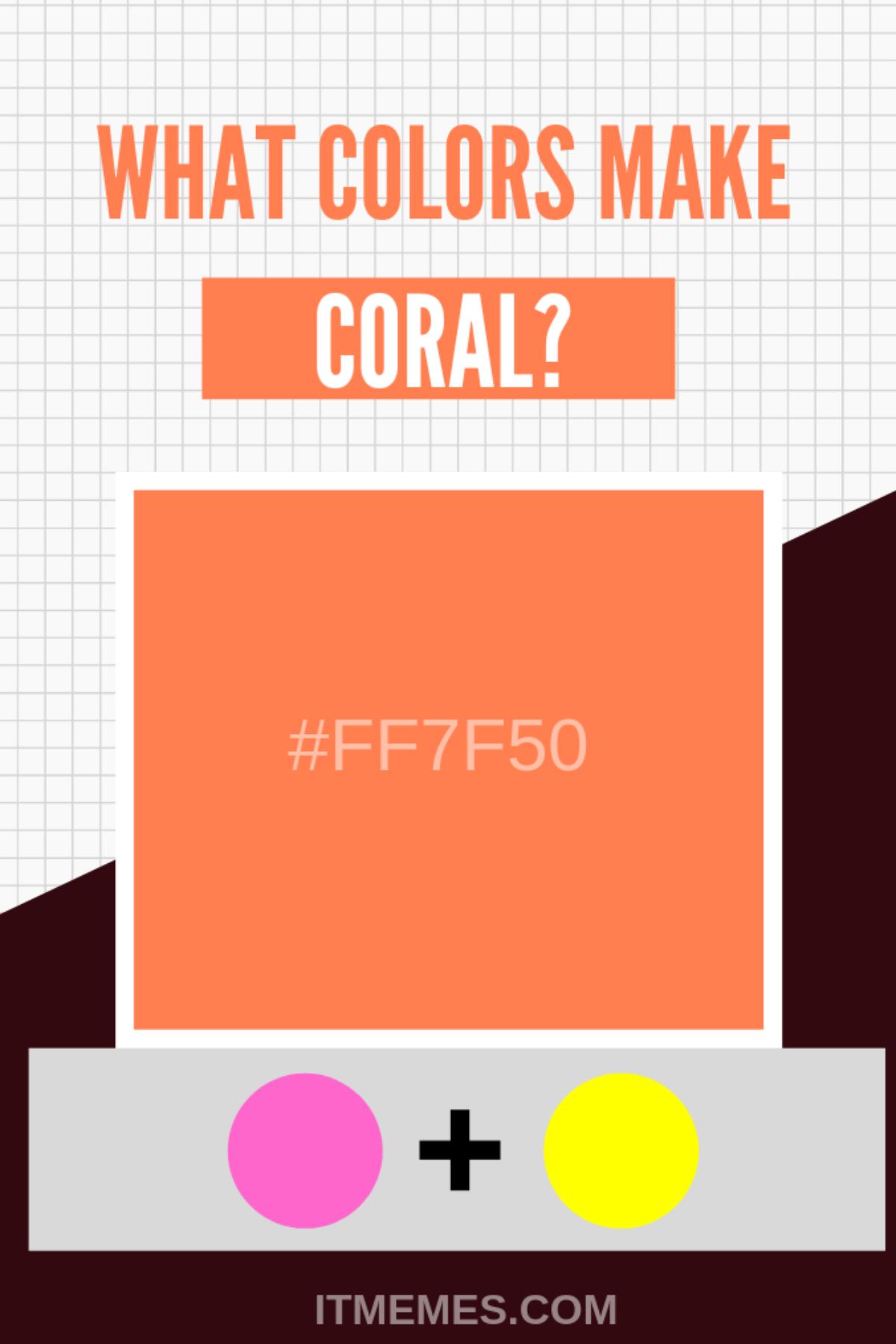 What Colors Make Coral? - It Memes